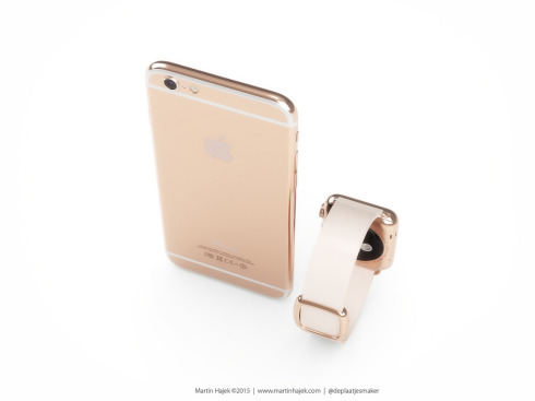 iPhone 6s rose gold concept 4