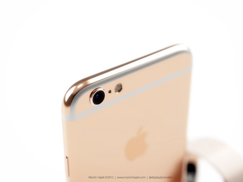 iPhone 6s rose gold concept 5