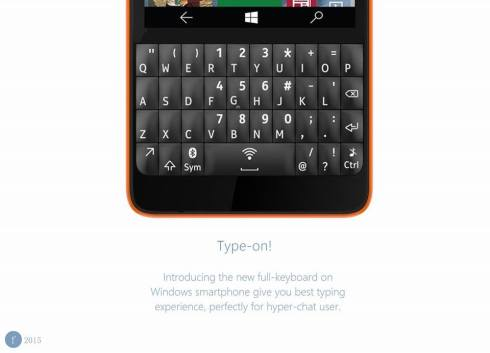 Microsoft Asha 240 XT Windows 10 phone 3