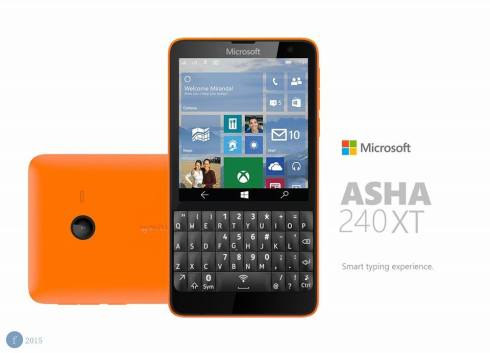 Microsoft Asha 240 XT Windows 10 phone 5