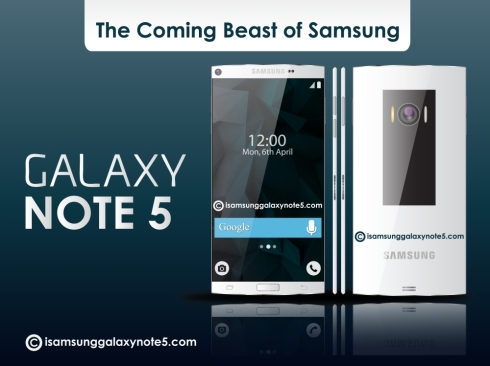 Samsung Galaxy Note 5 concept 1