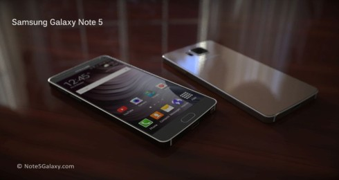 Samsung Galaxy Note 5 concept 1