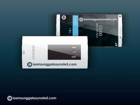 Samsung Galaxy Note 5 concept 3