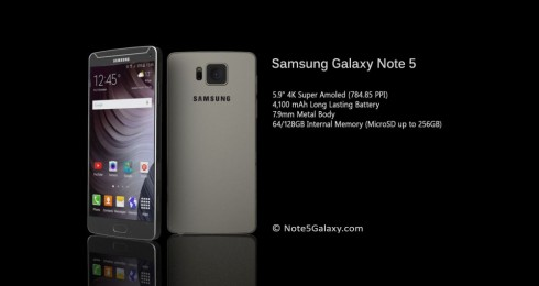Samsung Galaxy Note 5 concept 3