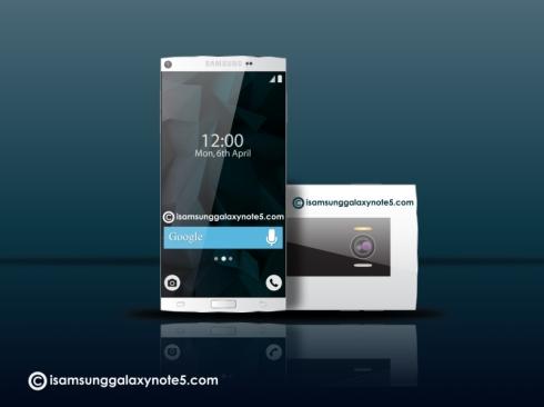Samsung Galaxy Note 5 concept 4