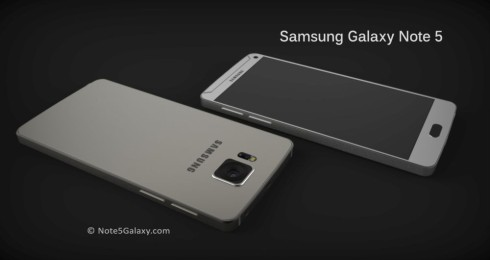 Samsung Galaxy Note 5 concept 5