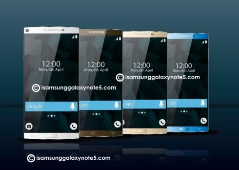 Samsung Galaxy Note 5 concept 6