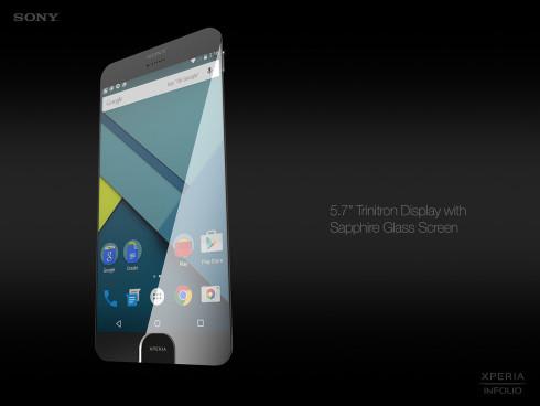 Sony Xperia Infolio concept phone 1