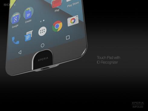 Sony Xperia Infolio concept phone  2