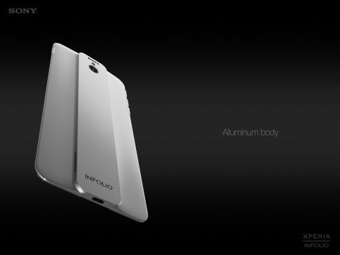 Sony Xperia Infolio concept phone 3