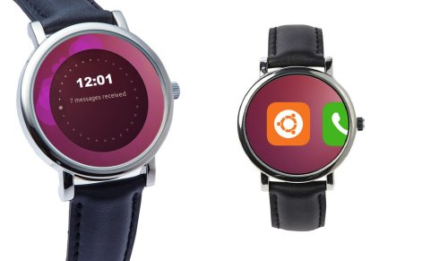 Ubuntu wear watch concept 1