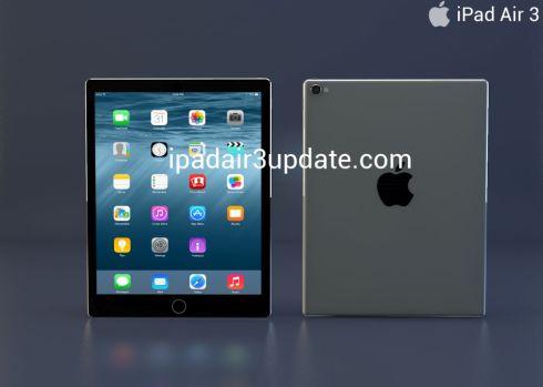 iPad Air 3 concept 1