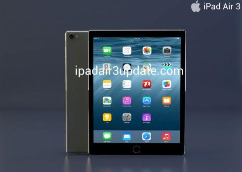 iPad Air 3 concept 2