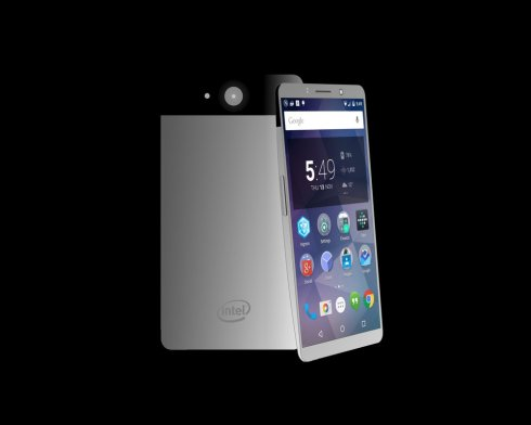 intel android concept phone