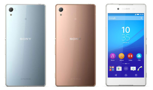 sony xperia z4 press photo