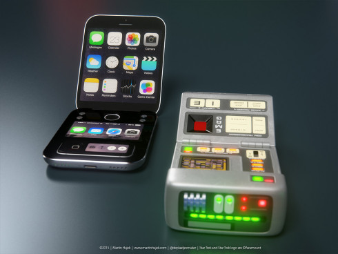 Apple Star Trek tricorder icorder concept 1