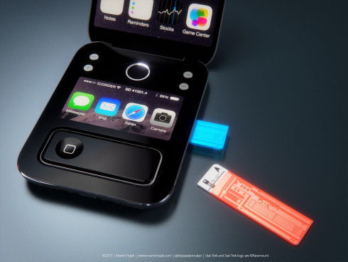 Apple Star Trek tricorder icorder concept 3