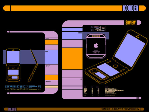 Apple Star Trek tricorder icorder concept 7