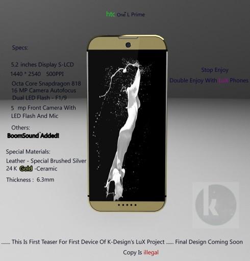 HTC One L Prime concept 1