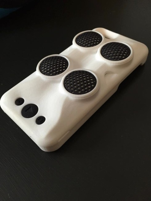 Impulse Speaker Case concept 1