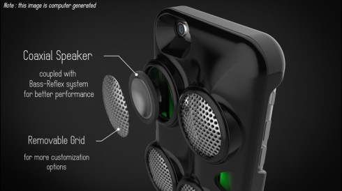 Impulse Speaker Case concept 3