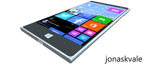 Microsoft Lumia 2000 concept 1