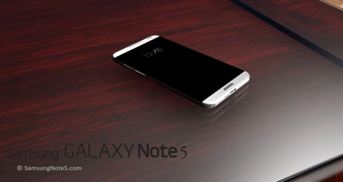 Samsung Galaxy Note 5 rounded concept 1