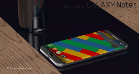 Samsung Galaxy Note 5 rounded concept 2