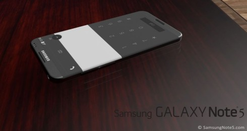 Samsung Galaxy Note 5 rounded concept 4