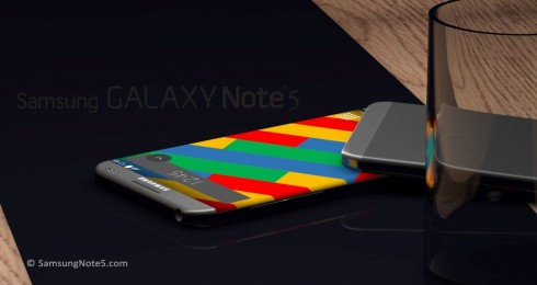 Samsung Galaxy Note 5 rounded concept 5