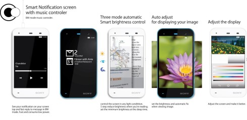 Sony Xperia R concept Windows and Android dual boot 1