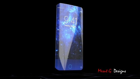 iPhone 7 Edge concept Iron Man 1