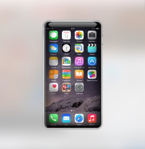 iPhone 7 edge to edge concept
