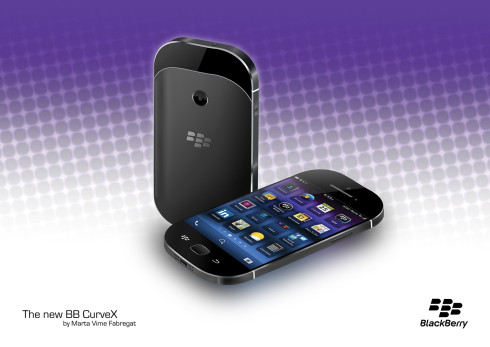 BlackBerry CurveX concept