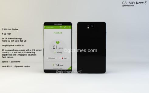 Galaxy Note 5 concept giztimes 1