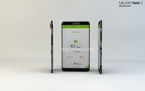 Galaxy Note 5 concept giztimes 2