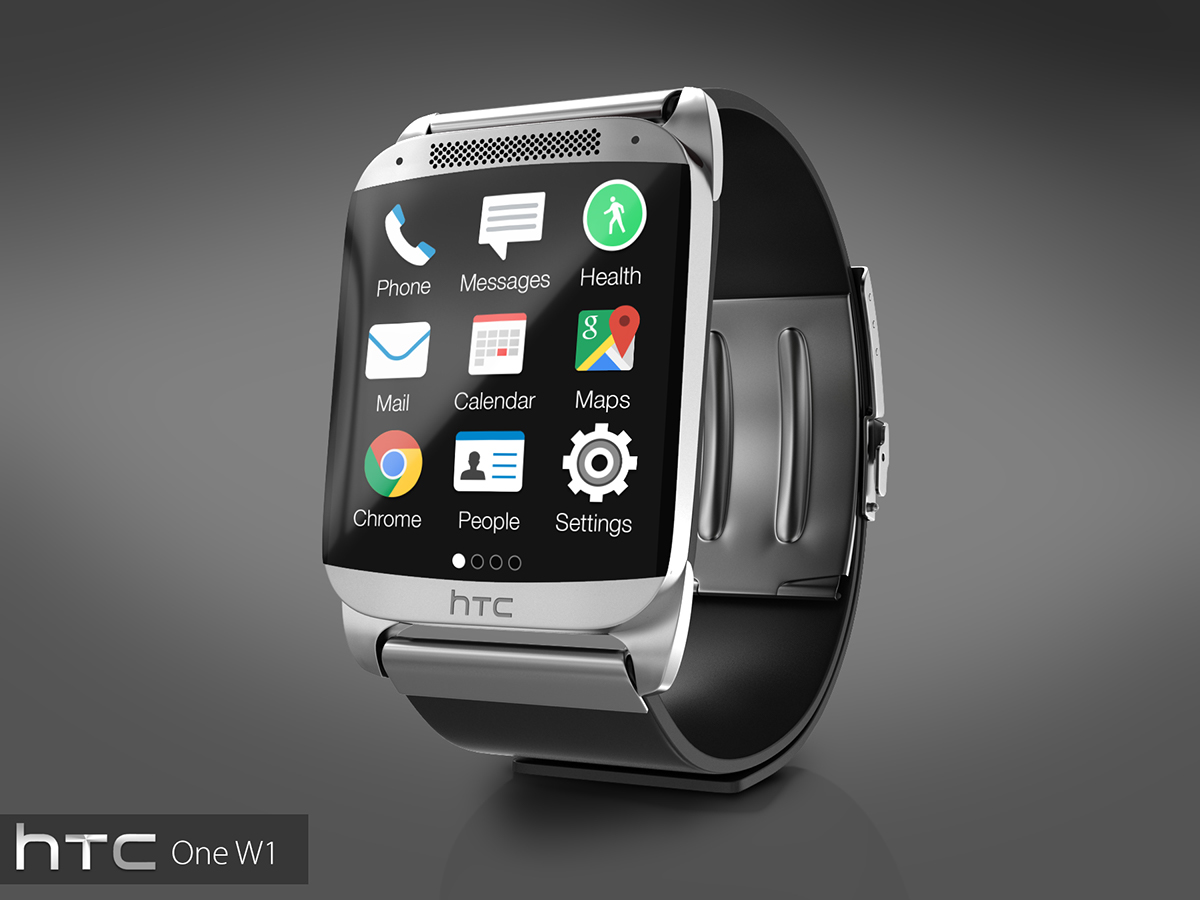 Htc One W1 Watch Is A Super Smartwatch With Metallic