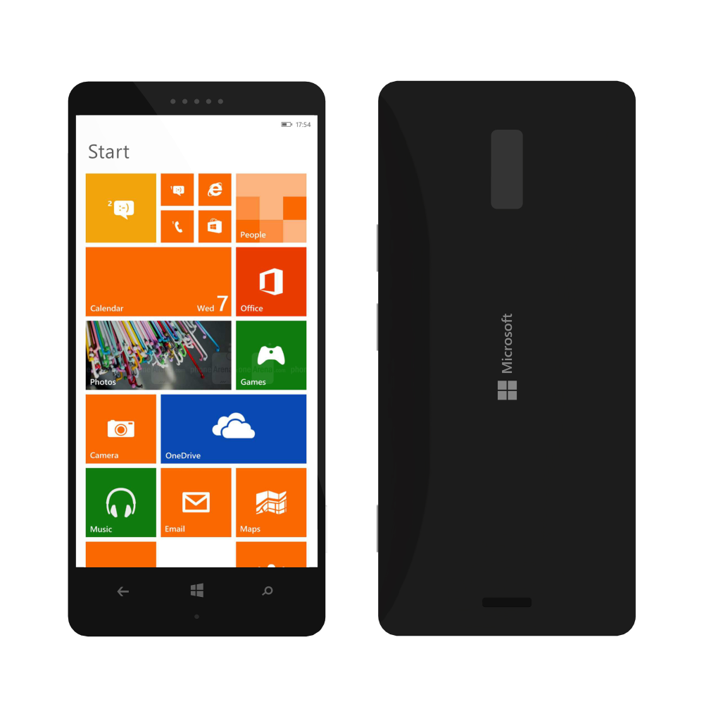 microsoft lumia 940 gets fresh render from crowtor concept phones. Black Bedroom Furniture Sets. Home Design Ideas