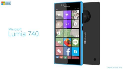 Microsoft Lumia 740 concept 1