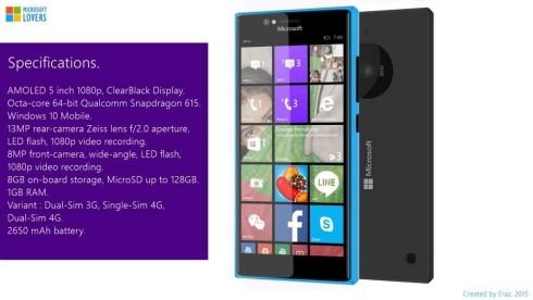 Microsoft Lumia 740 concept 2
