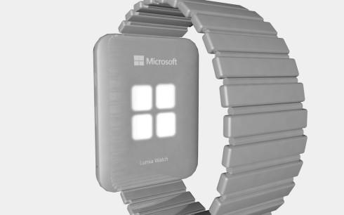 Microsoft Lumia Watch Windows 10 concept 1