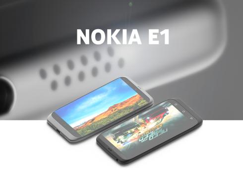 Nokia E1 concept 1