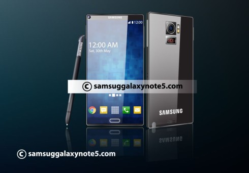 Samsung Galaxy Note 5 projector concept 2
