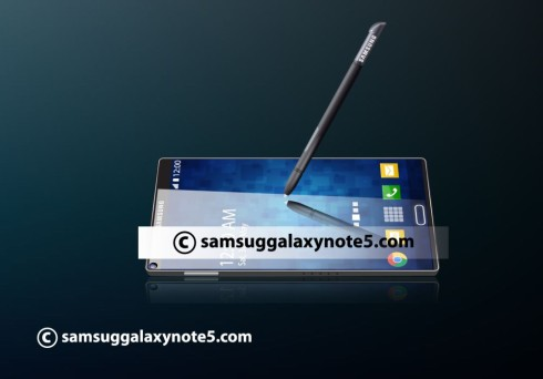 Samsung Galaxy Note 5 projector concept 3