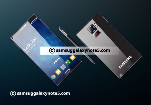 Samsung Galaxy Note 5 projector concept 4