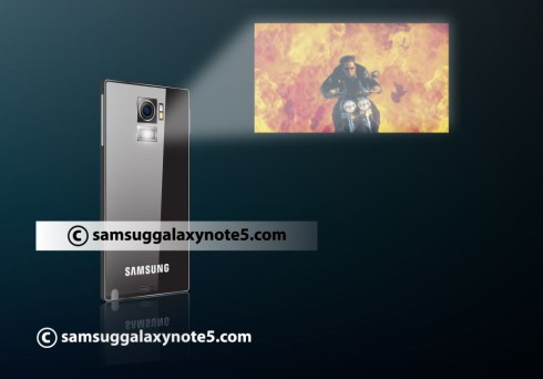 Samsung Galaxy Note 5 projector concept 5