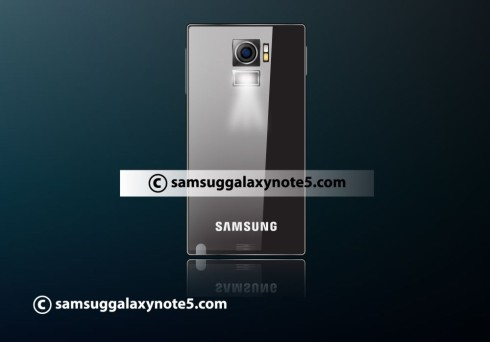 Samsung Galaxy Note 5 projector concept 6