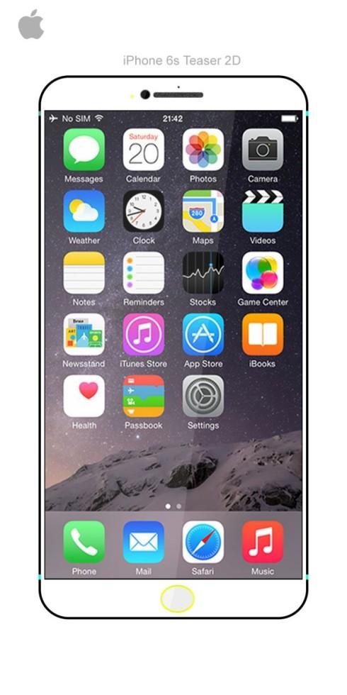 iPhone 6s teaser concept Kiarash Kia 1
