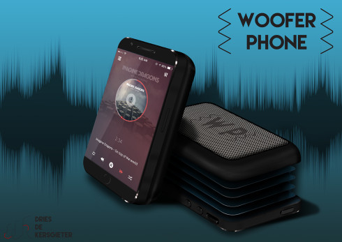 woofer phone concept