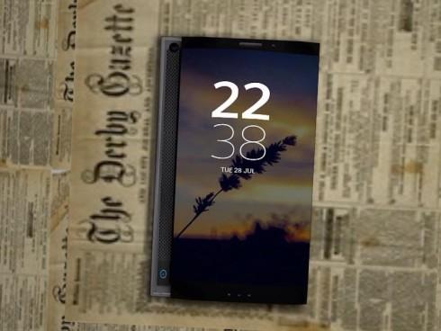 Dual display Xperia concept 2